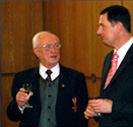 Obermeister Paul Flüss erhält Verdienstkreuz